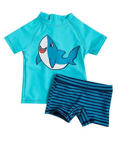 Set de natation turquoise